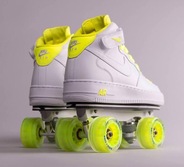 Zapatillas con patines de ruedas Flaneurz