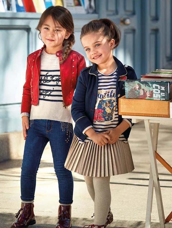Mayoral online colección de moda infantil AW 2017