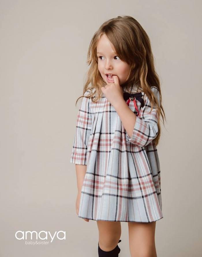 Amaya Artesanía moda AW 2018 colecciones infantiles de invierno