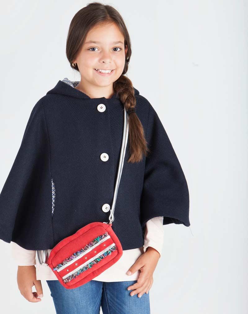 Capas y ponchos para niñas de Kokoset