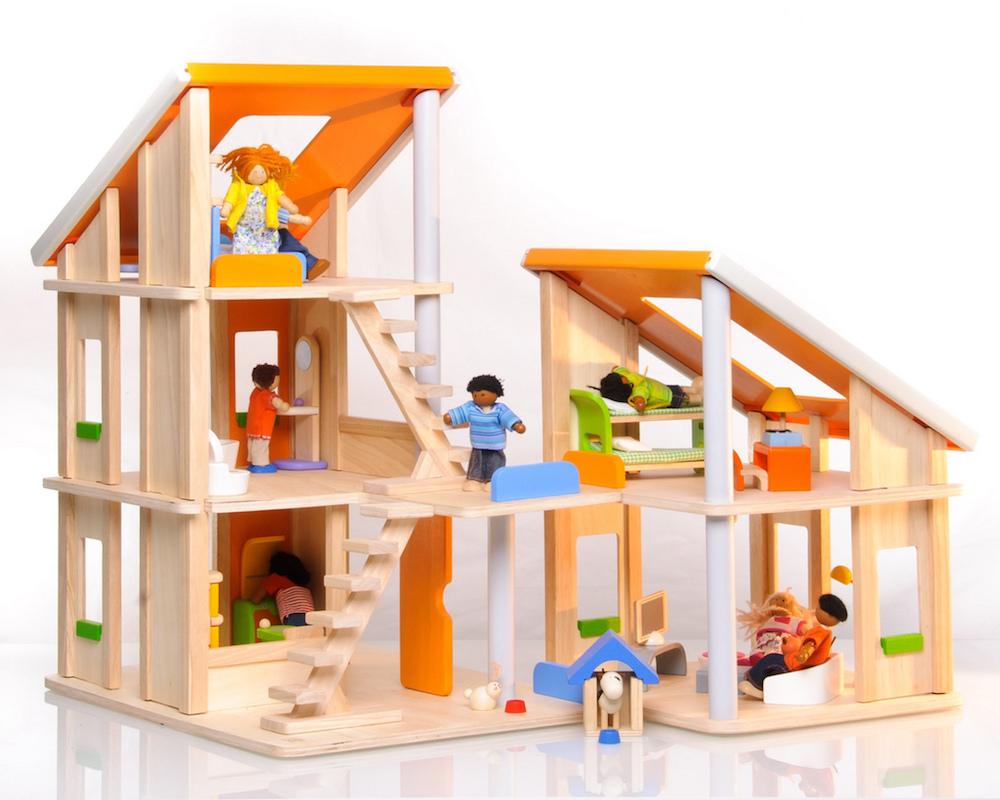 12 Casas de muñecas de madera, las mejores marcas