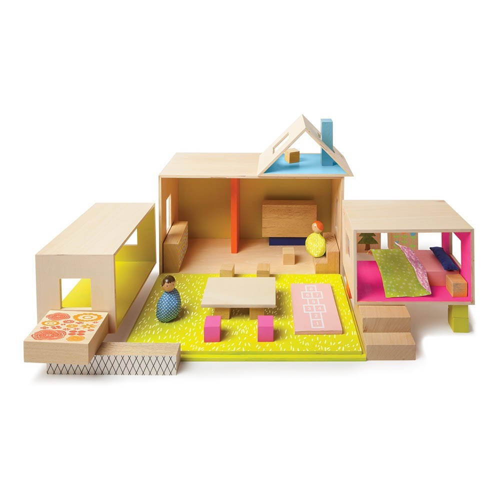 12 casas de mu ecas de madera las mejores marcas - Las mejores casas de madera ...