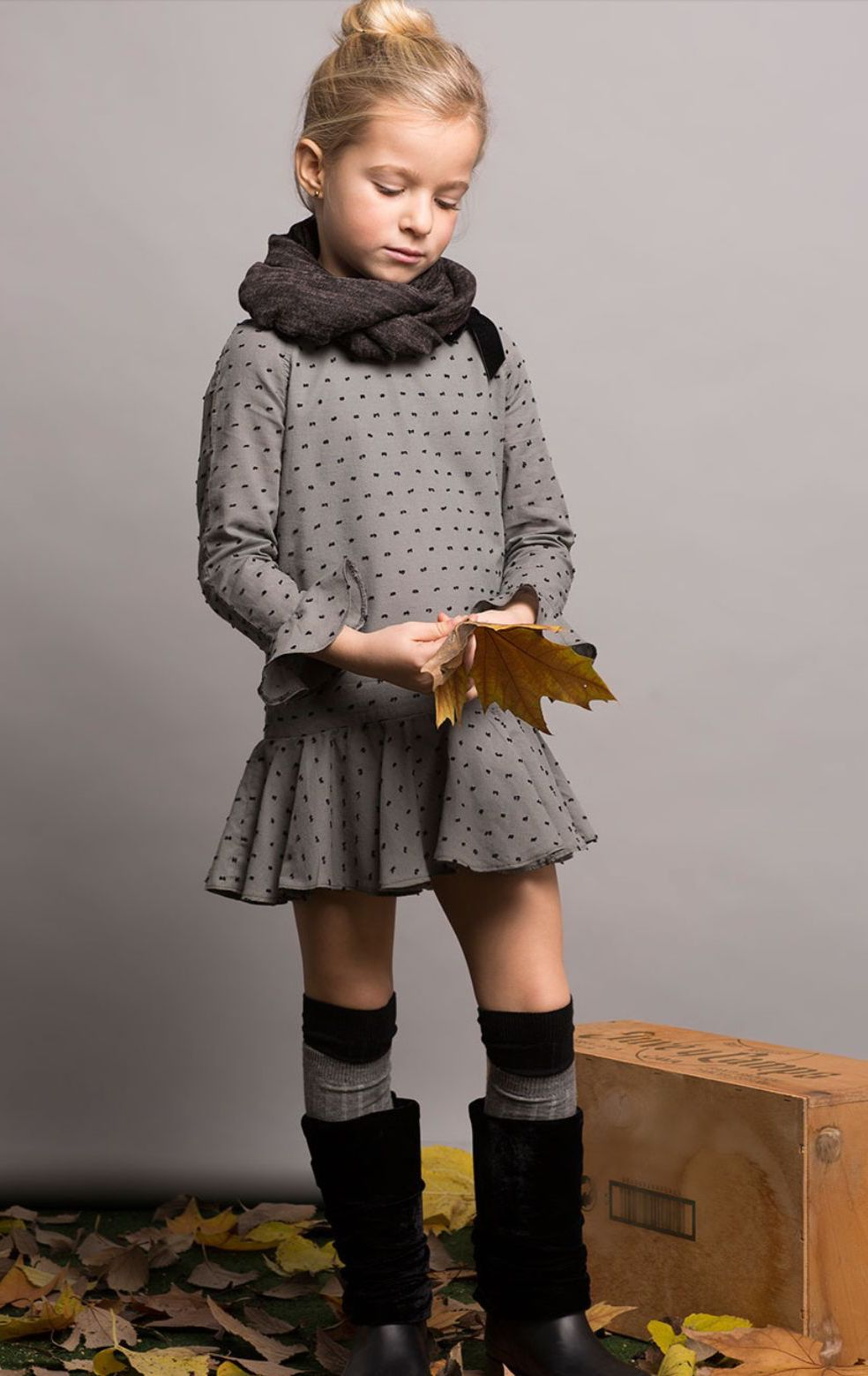 Pilar Batanero colección otoño invierno 2017 en tonos grises