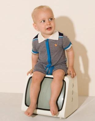 Dis Une Couleur, ropa infantil con un toque retro, moda infantil colección de primavera-verano