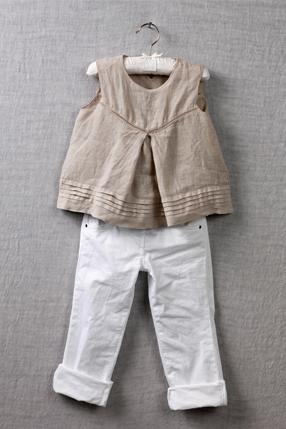 120% Lino, camisas y conjuntos infantiles en lino, moda infantil colección de verano 120% Lino