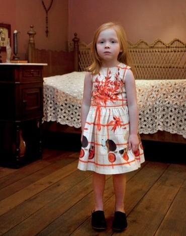 68f4bde72 Dominique ver Eecke, vestidos para niñas de verano, moda infantil de ...