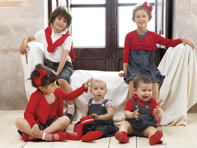 Cóndor, nueva colección Denim para niños, moda infantil de Cóndor de 0 a 12 años