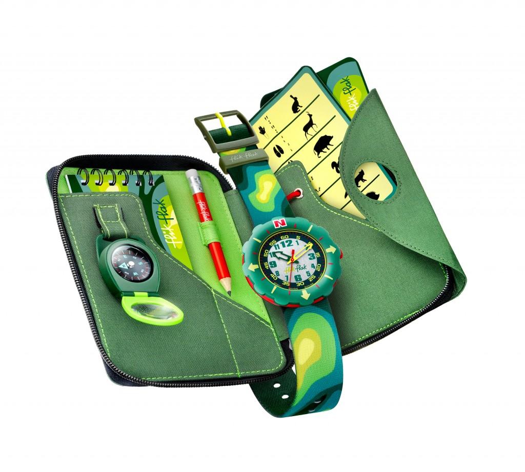 Flik Flak, relojes en cofre de regalo para niños, accesorios infantiles de Flik Flak