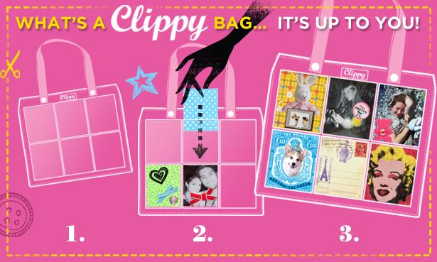 Clippy Kit London, bolsos personalizables y originales, bolsos para mamás y niñas, accesorios de moda