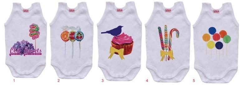Lola for kids, body para bebé con estampaciones, básicos para bebé en Tutete.com