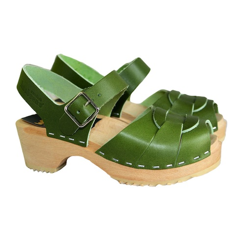 Swedish Hasbeens, sandalias zuecos para niñas, calzado infantil de verano de Swedish Hasbeens