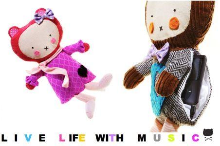 iDolls de Woon Kids, muñecos para escuchar música con tu MP3, muñecos y regalos para niños