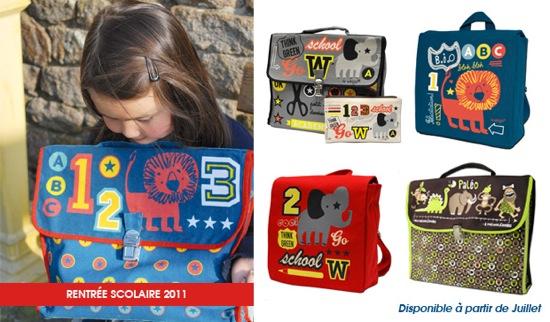 Coq en pâte, accesorios para niños realizados de forma ética, algodón BIO y mucho diseño