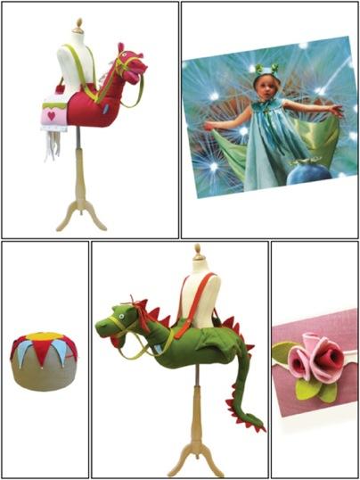 Savo & Pomelina, disfraces y accesorios para niños en fieltro, accesorios infantiles Savo Pomelina