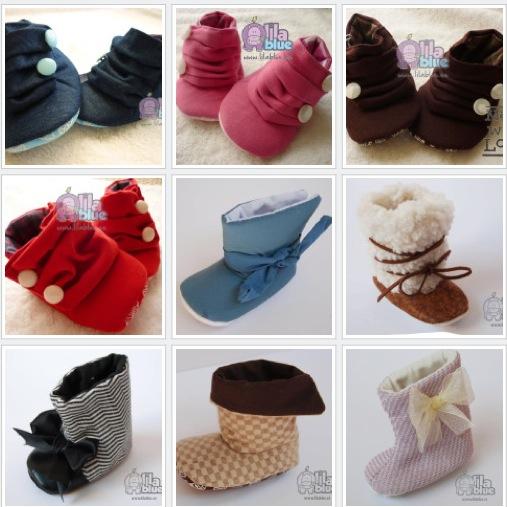 Lila Blue, zapatitos y botas para bebé, calzado infantil de Lila Blue