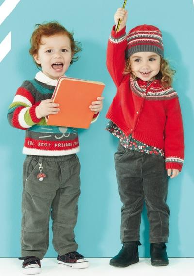 Bóboli, moda infantil, ropa para niños otoño-invierno de Bóboli