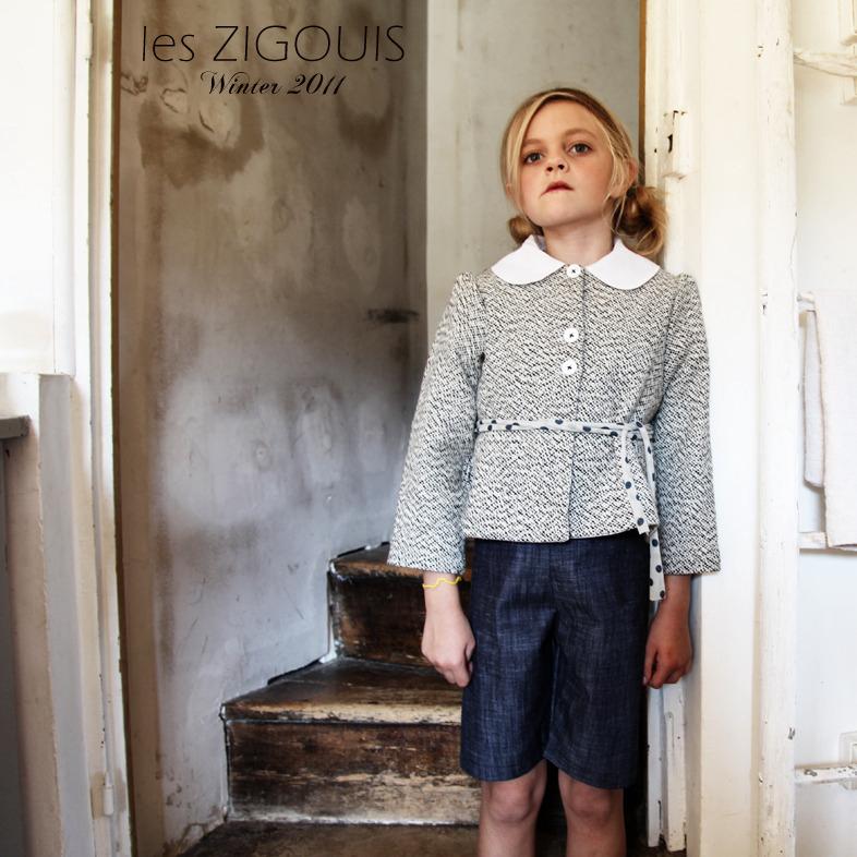 Les Zigouis, moda infantil diseño cantidad limitada, ropa para niños artesanal Les Zigouis