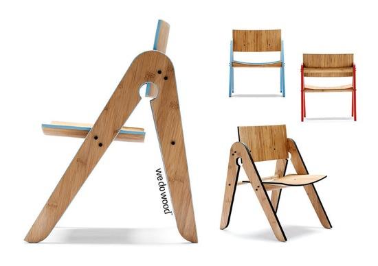WE:DOO:WOOD, sillas, mesas y organizadores infantiles, muebles habitación infantil-juvenil de We Doo Wood
