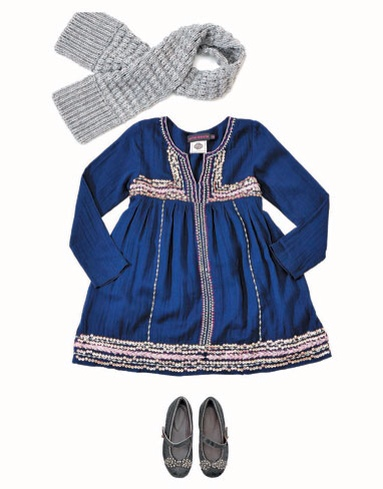 Antik Batik, moda infantil otoño-invierno, ropa para niñas, vestidos y faldas de Antik Batik