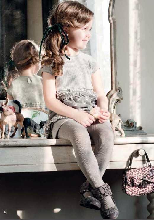 Monnalisa, moda infantil, ropa para niñas otoño-invierno de Monnalisa