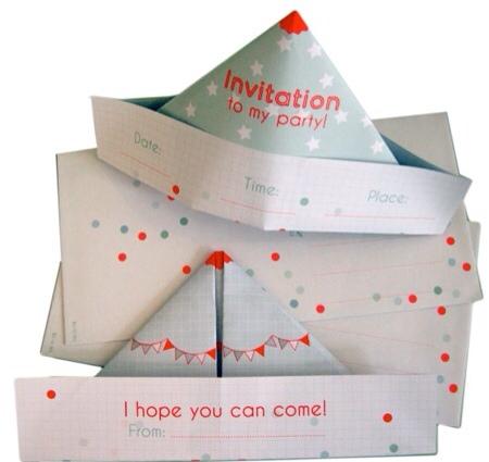 Studio Blij, invitaciones para fiestas infantiles, papelería, sellos y sobres infantiles, manualidades para niños de Studio Blij