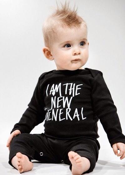 New Generals, moda bebé y moda infantil, moda atractiva, sostenible y ecológica de New Generals