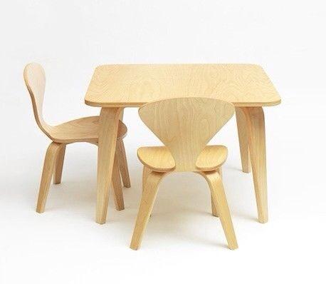Cherner mesas y sillas infantiles muebles habitaci n for Pegatinas infantiles para muebles