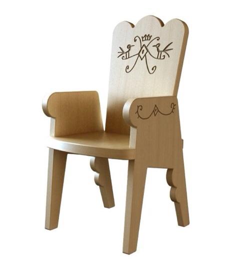 Magis, Estudio Mariscal, silla, mesa y trono colección Me Too, muebles infantiles de Estudio Mariscal.