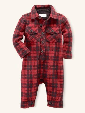 Burberry, pijamas para bebés, moda bebé, pijamas de invierno de Burberry