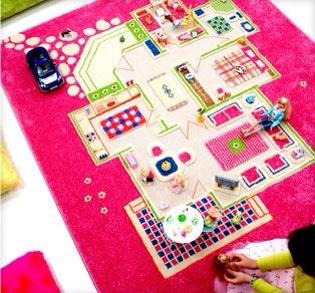 IVI alfombras infantiles para jugar, regalos infantiles originales, alfombras de Luca & Company