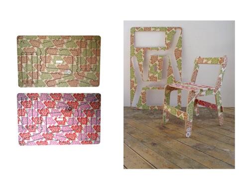 Chairfix, silla puzzle, regalos infantiles originales, muebles infantiles Ben Wilson