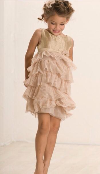 Biscotti, vestidos de fiesta para niñas, moda infantil colección de invierno de Biscotti