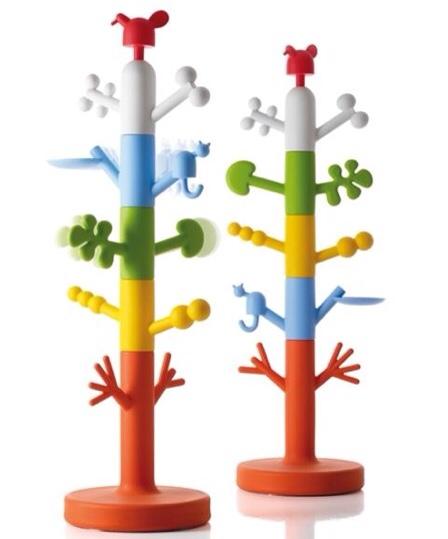 Paradise Tree, colgador infantil, colgador de pie para la habitación infantil de Magis