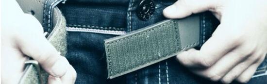 Trickle, accesorios de moda infantil, cinturones para niños con velcro de Trickle