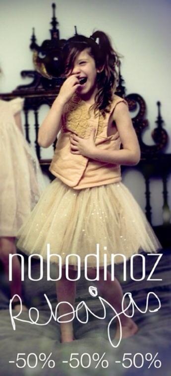 Nobodinoz, rebajas súper interesantes en moda infantil, no te pierdas las rebajas de Nobodinoz !