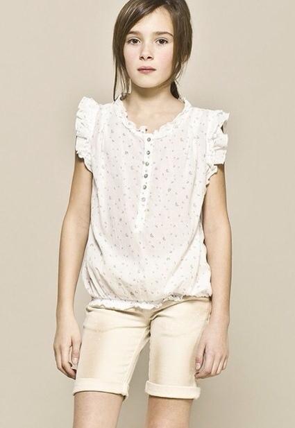 IKKS, moda infantil, ropa para niñas colección de verano de IKKS