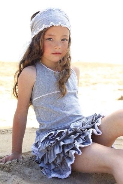 Mim Pi, moda infantil, ropa para niñas colección de verano de Mimi Pi