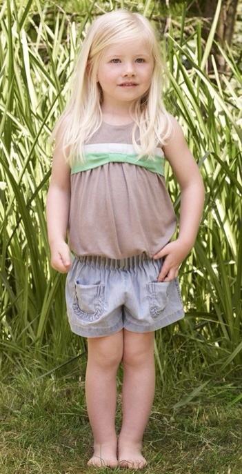 Chloé, moda para niñas, ropa infantil para primavera-verano de Chloé