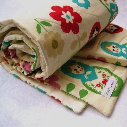 Sewn Natural, mantas para bebés en tejidos orgánicos y juguetes realizados a mano de Sewn Natural