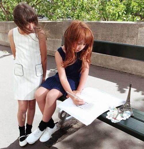 Dino e Lucia, moda para niñas, nueva colección de moda infantil primavera-verano de Dino e Lucia