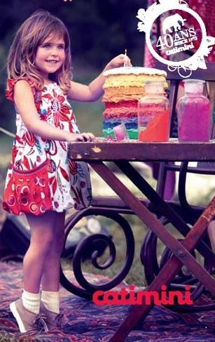 Catimini, moda infantil, ropa para niños colección de verano de Catimini