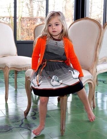 Dominique ver Eecke, moda infantil original, diseño moda para niñas colección de verano de Dominique ver Eecke