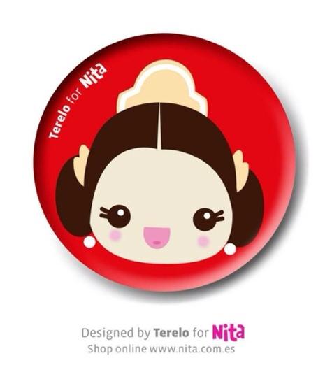 Nita, accesorios infantiles de moda, chapas para las Fallas en Nita.com.es