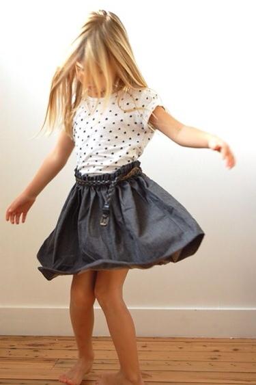 D'Arthur à Zoé, moda infantil, ropa de verano para niñas, moda en tejidos naturales D'Arthur à Zoé
