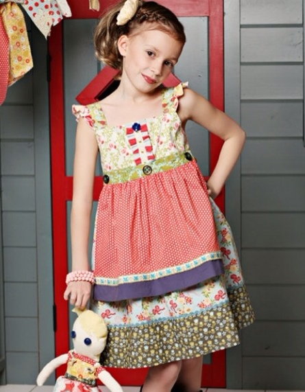 Matilda Jane, moda infantil, vestidos para niñas, colección de verano de Matilda Jane Clothing
