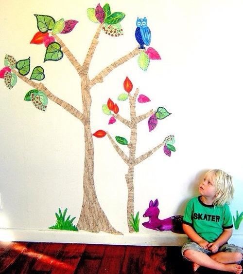Vinilos infantiles, decoración para la habitación infantil, vinilos originales y prácticos