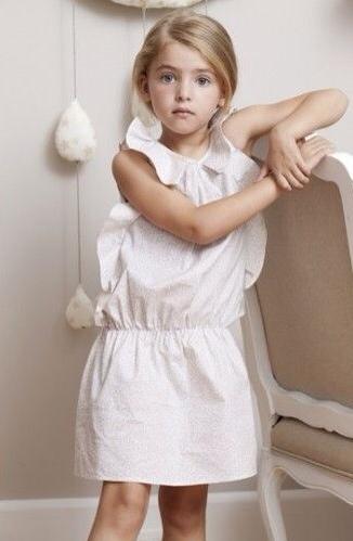 Marilyn Tov, moda infantil, ropa para niñas, colección de verano de Marilyn Tov