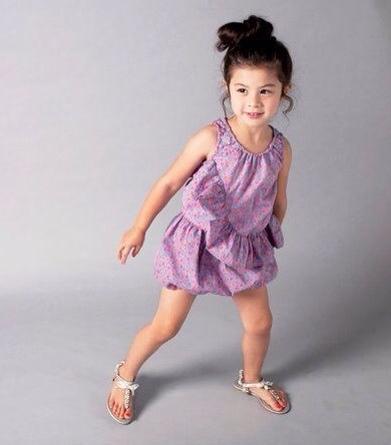 Nelly Stella, moda infantil, colección de ropa para niña primavera-verano de Nelly Stella