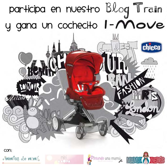 Sorteamos un I-Move de Chicco, participa en nuestro Blog Train