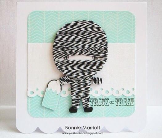 Twisted Sugar Twine, manualidades con cordones de colores, haz tus propias tarjetas
